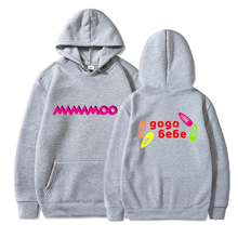 Mamamoo Hoodie Sweatshirt Men and Women Hooded Streetwear Hip Hop Cotton Pullover Clothes