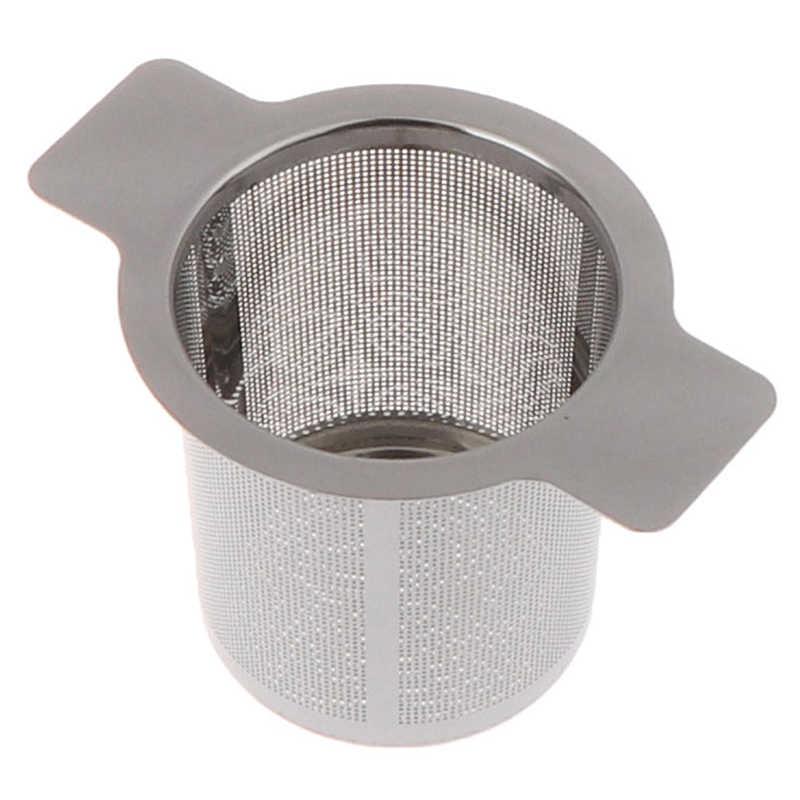 10 Cm X 7.5 CM 1 PC Stainless Steel Mesh Teh Infuser Cangkir Logam Saringan Longgar Teh Daun Filter Saringan