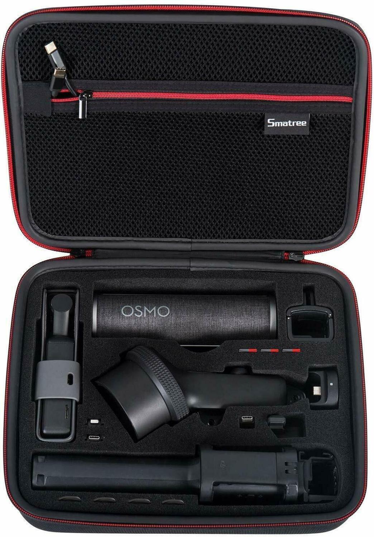 Image 5 - Smatree Waterproof Hard Carrying Case Portable Storage Bag for  DJI Osmo Pocket Extension Rod, Osmo Pocket Waterproof CaseCamera/Video  Bags