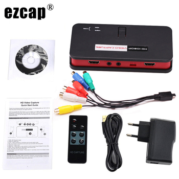 Ezcap 284 1080P HD HDMI Video Capture Box Card,Game Recorder for PlayStation, Xbox, Gameplay for Blu-ray DVD Save to USB Disk SD