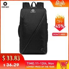 OZUKO Large Capacity Anti-thief Men Backpack Multifunction USB Laptop Backpack School Bag Male Teenage Waterproof Travel Mochila
