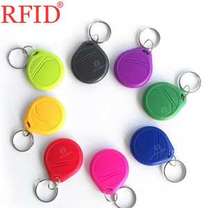 UID S50 1K 13.56MHZ Changeable Rewritable keyfob RFID NFC Card IC Blank Card Copier Key Keychain Token Tag Access Control Card 1(China)