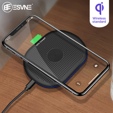 ESVNE 5W Qi Wireless Charger For iphone Samsung Fast Xiaomi Huawei Phone Charging pad