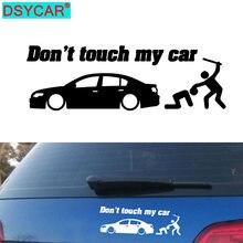 Dsycar 2 шт Безопасность предупреждение виниловые наклейки на