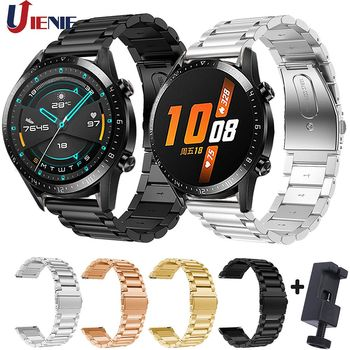 Stainless Steel Watch Band for Huawei Watch GT2 GT 42mm 46mm Strap Samsung Galaxy 46mm/Gear S3 Frontier/Amazfit gts Bracelet