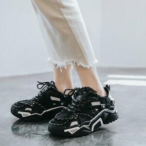 Zapatillas de deporte de alta calidad, calzado para correr al aire libre, calzado para caminar, plataforma acolchada, sandalias transpirables, zapatos de mujer, ZD-212