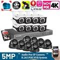 H.265 16CH CCTV Systems Camera NVR 4k Ultra HD Waterproof 5.0MP Security IP Camera P2P Video Surveillance System Set