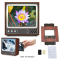 Увеличительное стекло в ретро-стиле для экрана телевизора, увеличенный усилитель экрана телефона, увеличенное изображение видео от мобиль...