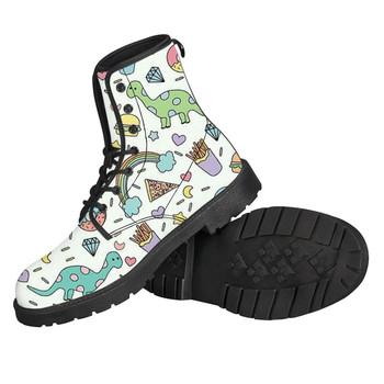 Mężczyźni chłopcy buty dostosowane jednorożec buty męskie dorosłych prawdziwej skóry buty wodoodporne męskie buty ciepłe buty zimowe Drop Shipping tanie i dobre opinie noisydesigns Podstawowe Pasuje prawda na wymiar weź swój normalny rozmiar Oddychająca Wodoodporna Zima Tkanina bawełniana