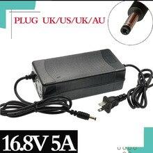 Cargador de batería de litio de tres etapas, 14,4 V, 14,8 V, 5A, CC, 16,8 V, for14500/14650/17490/18500/18650/26500