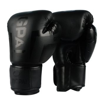 Good Quality Black adult kick boxing gloves muay thai luva de boxe Training fighting men women boxing gloves Grappling MMA glove wesing boxing robe soft boxing cloak kick men women boxing dry robe clothing boxing uniforms bata boxeo robe