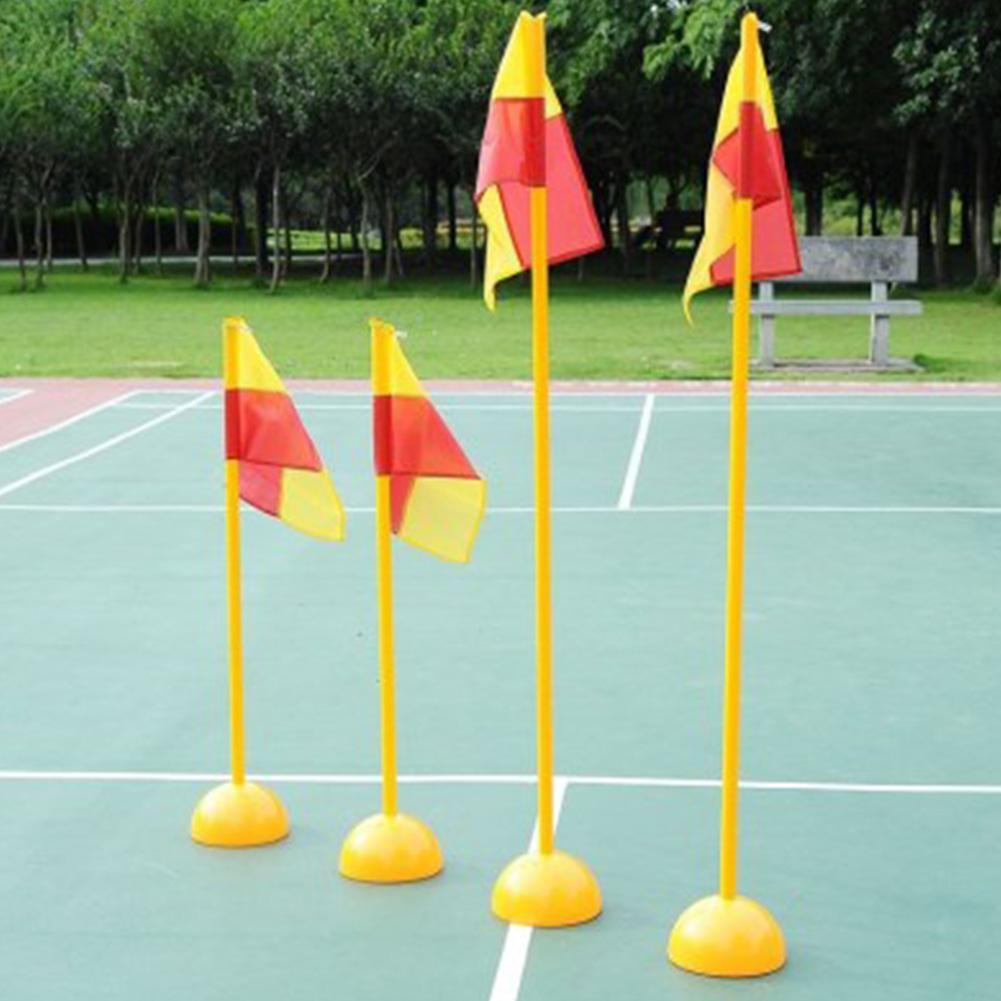 Water Injection Base Football Door Pole Flag Logo Bar Training Equipment Sign Obstacle Marker Rod