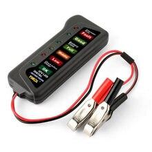 Мини 12 В тестер для автомобильного аккумулятора цифровой переменного