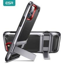 Esr Case Voor Iphone 12 Kickstand Telefoon Case Voor Iphone 12 Pro Heavy Duty Sterke Schokbestendig Beschermende Stand Case Luxe funda