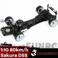 3RACING Sakura D5 KIT 1/10 telecomando Super Rear Drive Racing professione Drift Car Frame RC modello D5S adulto bambino ragazzo giocattolo