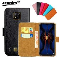 На Алиэкспресс купить чехол для смартфона doogee s95 pro case 6 colors flip slots leather wallet cases for doogee s95 pro cover slots phone bag credit card
