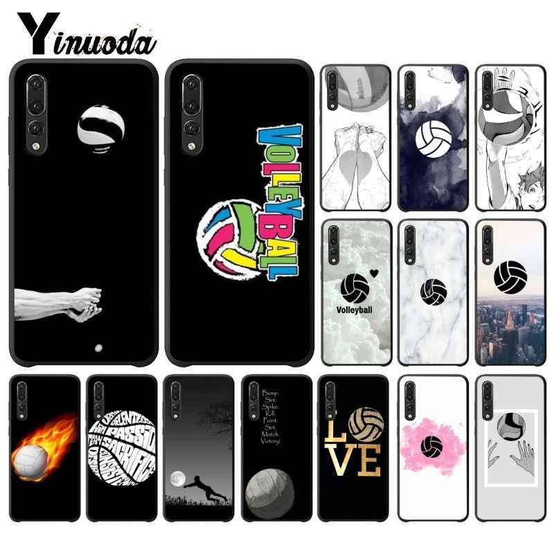 Funda para teléfono Yinuoda I love voleibol novedad Fundas para Huawei P9 P10 Plus Mate9 10 Mate10 Lite P20 Pro honor10 View10