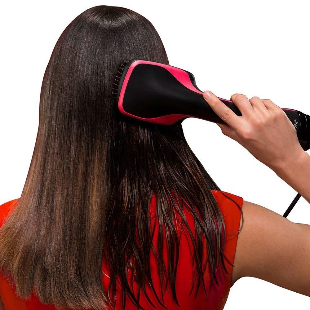 quente secador de cabelo de uma etapa