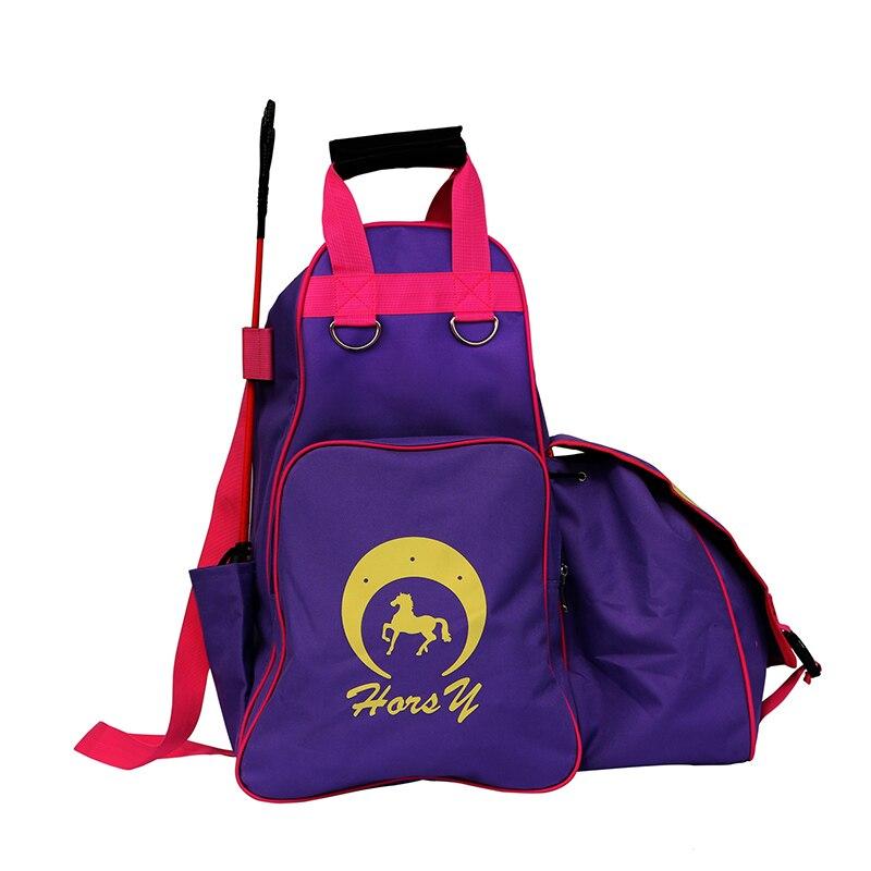 Details about  /Equestrian Equipment Backpack Helmet Boots Storage Bag Adjustable Gear Sack