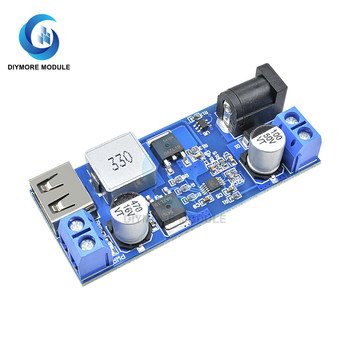 5V 5A USB Charger Module DC-DC 24V/12V to 5V 5A Step Down Power Supply Buck Converter For Mobile Phone Battery Charging image