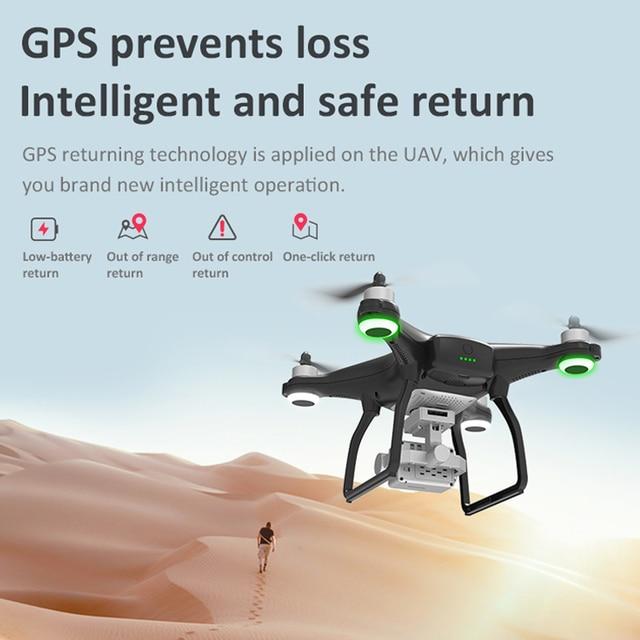 LAUMOX X35 Drone GPS WiFi 4K HD Camera Profissional RC Quadcopter 6