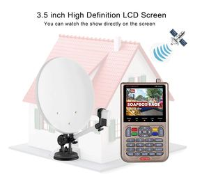 Image 4 - GTmedia V8 Finder Satellite Finder Dvb s2 s2x HD Sat Finder Satellite Signal finder Meter Digital Live Digital satellite Finder