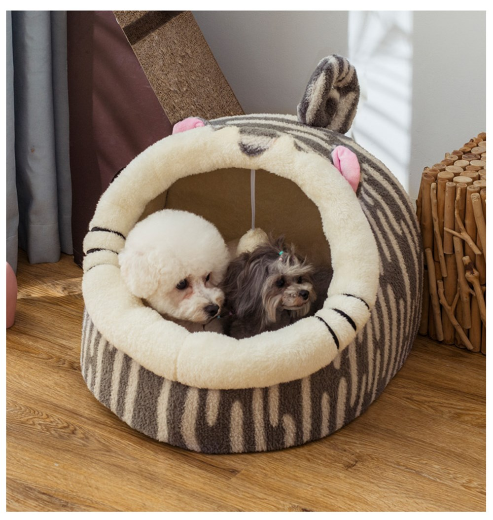 Beds Beds Dogs New Arrivals Four Seasons Universal Enclosed Warm Pet House  My Pet World Store