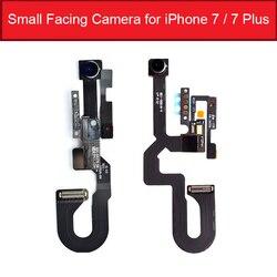 Małe kamera tyłem do kierunku jazdy dla iPhone 7 7G 7Plus przednia kamera z czujnik zbliżeniowy światła Flex Cable części zamienne