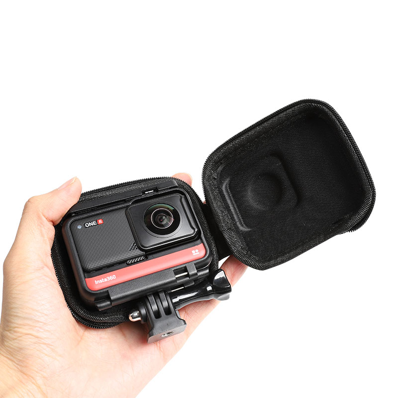 For Insta360 ONE R Panoramic Edition Carrying Case Insta 360 ONE R 360 Mod Wide Angle Camera Mini Portable Storage Bag Accessory