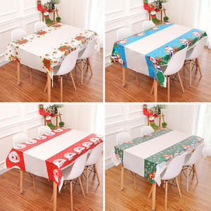 Tablecloth Christmas-Table-Decorations Free-Product New