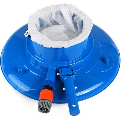 Dropshipping Pool Cleaning Tool Mini Swimming Pool Vacuum Cleaner Floating Objects Cleaning Tools Pool Head Cleaning Garden Tool(China)