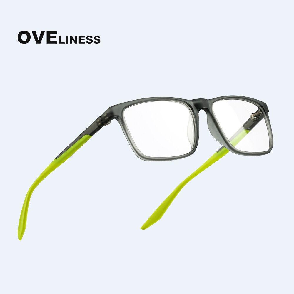 TR90 Fashion Square Glasses Frames For Men Women Optical Computer Glasses Eyeglasses Prescription Myopia Full Spectacles Eyewear