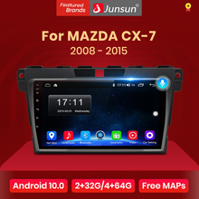 Junsun V1 2G+32G Android 10.0 Car Radio Multimedia Player Navigation For Mazda Cx-7 cx7 2008 2009 2010 2011 2012 2013 2014 2015