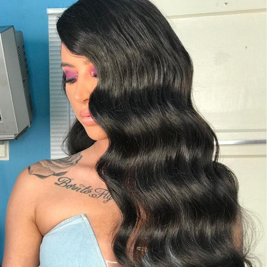 360 Lace Front Human Hair Wig Loose Wave Lace Front Wigs For Women Pre-Plucked With Baby Hair Peruvian Remy Hair Lace Wig