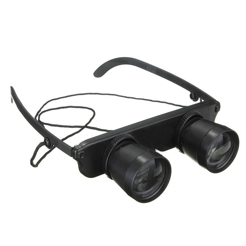Schwarz 3x28 Brille Vergroesserungsglas Lupenbrille Brillenlupe Glaeser Stil Angel Reise Fernglas Theater Lup Fisch Optics Ferng