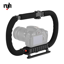 Action Stabilizer Grip Flash Bracket Holder Handle Professional Video Accessories for DSLR DV Camera Camcorder Smartphones cheap CN(Origin) Bluetooth Single Handgrip Camera Handgrip 35 5 * 22 8 * 9cm 395g