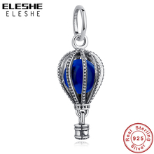 Bracelet European Beads Charm Jewelry-Making 925-Sterling-Silver Original Blue Fit Travel