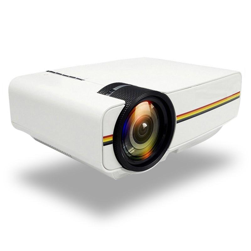 Мини-проектор светодиодный портативный YG400 para cine en casa con LCD de 800*480