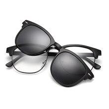 Homens óculos de moda miopia óptica computador óculos quadro design da marca simples óculos de olho retro grau feminino