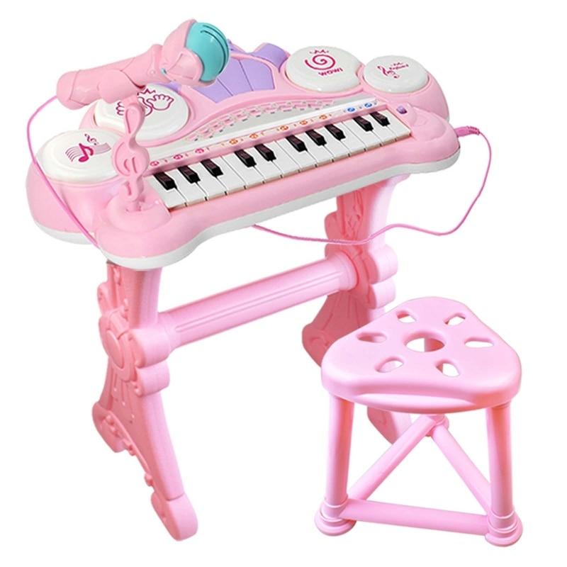 multifuncional 24 teclas teclado eletronico piano orgao 04