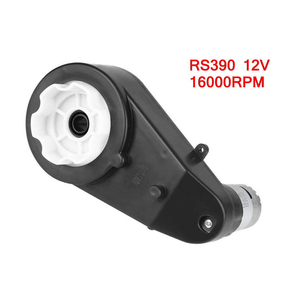 RS390 / RS550 Electric Gearbox Replace 12V 12000-20000RPM For Kids Car Toy Linear Actuator Bldc Motor Gear PP linear actuator