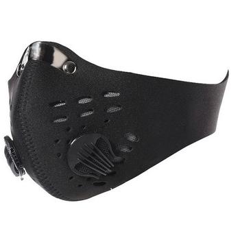 Ffp3 maska na twarz Anti motocykl maska chroniąca od zanieczyszczeń filtry z węglem aktywnym neoprenu powietrza maska chroniąca od zanieczyszczeń osłona na twarz tanie i dobre opinie Organic Gas red blue black Breathable Comfortable Skin friendly Anti-dust PM2 5 cold pollution windproof Cycling Anti-smog Dust-proof