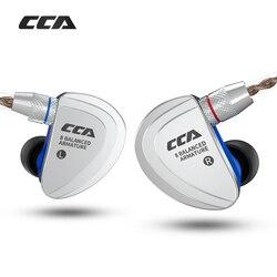 Unidades de movimentação cca c16 8ba no fone ouvido 8 armadura balanceada alta fidelidade fone fone de ouvido com destacável destacam cabo 2pin c10