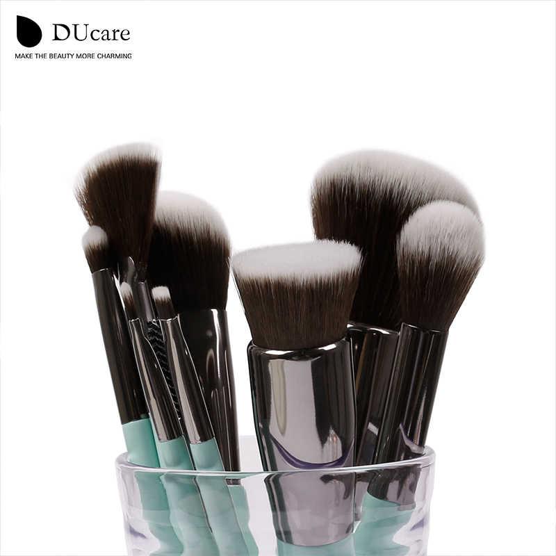 Ducare 11 pçs pincéis de maquiagem conjunto sombra de olho fundação pó delineador cílios lábio compõem escova cosméticos kit de ferramentas de beleza quente