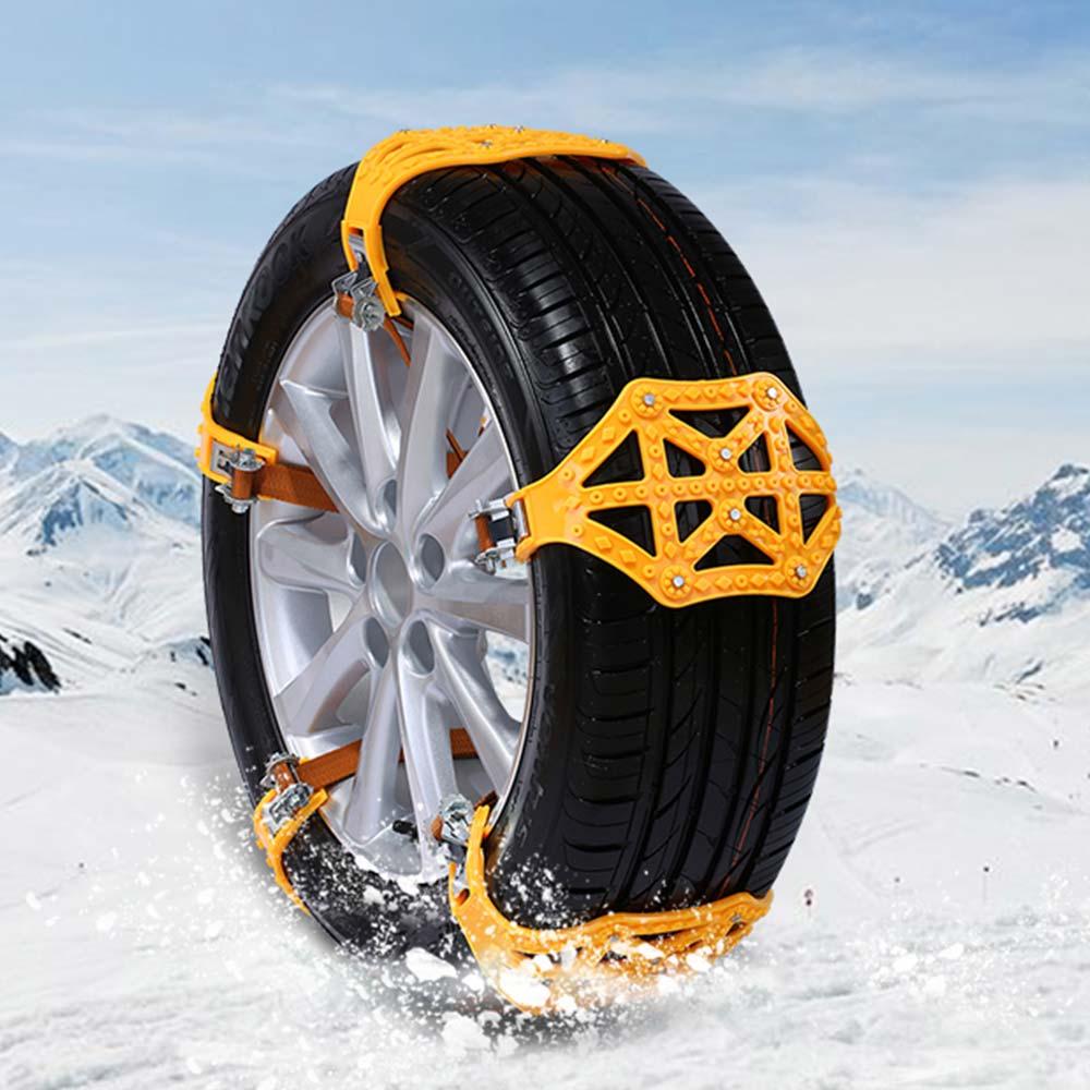 Chaînes antidérapantes TPU chaîne à neige universelle anti-dérapant roue à chaîne antidérapante