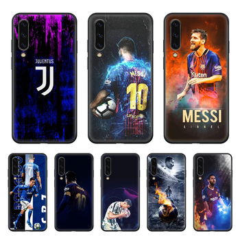 World Cup Football Messi Phone case hull For Samsung Galaxy A 50 51 20 71 70 40 30 10 E 4G S black funda art Etui trend prime image