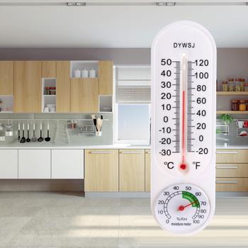 23cm długi ścienny wiszący termometr kryty ogrodowa garaż w domu pomieszczenie biurowe wiszące rejestrator temperatury narzędzie pomiarowe tanie i dobre opinie CN (pochodzenie) Termometr ogrodowy Z tworzywa sztucznego Skala TERMOMETRY dropshipping