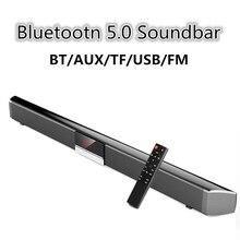 60W TV altoparlante Bluetooth Soundbar Wireless Home Theater Subwoofer sistema di controllo remoto per Computer TV altoparlante Caixa de som