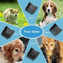 P7 Rechargeable Pet Dog Hair Clipper Profssional Electric Pet Grooming Clippers Dogs Cats Animals Low Noise Pet Trimmer Kit professional dog hair clippers grooming kit low noise rechargeable cordless dog cat pet electric hair clipper​ trimmer 100v 240v