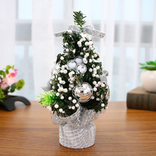 Mini Christmas Tree Decorations Festival Miniature Home Decoration Artificial Tabletop decoration for Childrens Gift